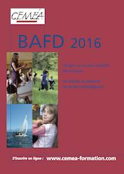 Calendrier BAFD 2016 à télécharger.