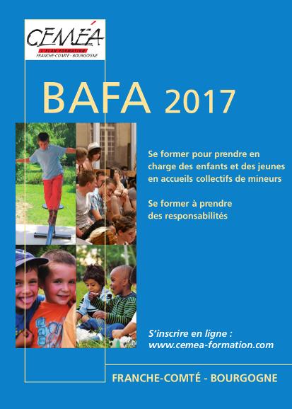 Calendrier BAFA 2017 à télécharger.