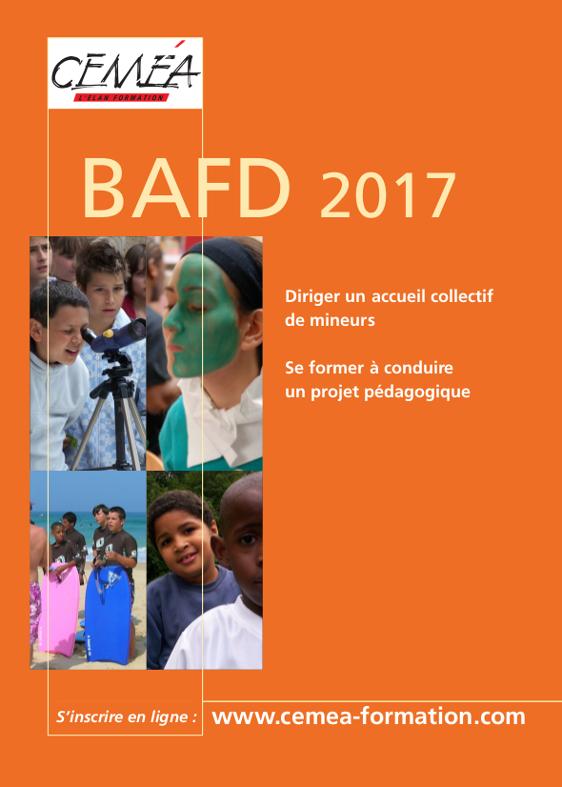Calendrier BAFD 2017 à télécharger.